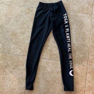 Vegan yoga pants